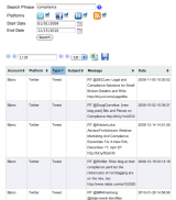 Stored Messages – Organized by Account, Platform and Type – are Quickly Retrieved ifNeeded